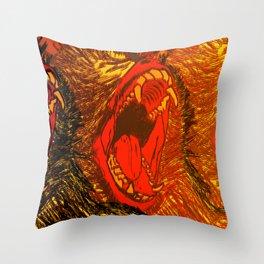 Speak No, Hear No, See No. Throw Pillow