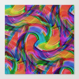 Graffiti Crazy Canvas Print