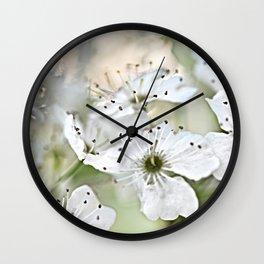 Flowering Pear Wall Clock