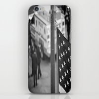hero iPhone & iPod Skins featuring Hero by Joëlle