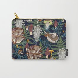 Dark mushroom forest Carry-All Pouch