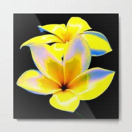 Flower Bow Metal Print