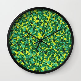 Camo 9 Summer Shandy Wall Clock