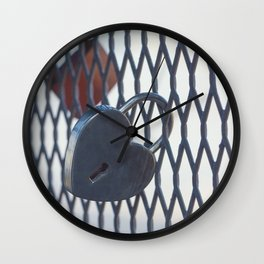 Locks of Love Wall Clock