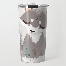 "The ""Animignons"" - the Wolf Travel Mug"