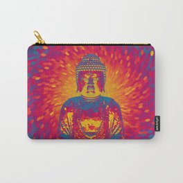 Crystal Buddha Carry-All Pouch