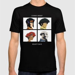 Cowboy Bebop - Bounty Days T-shirt