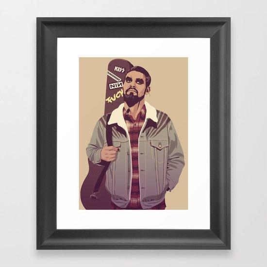 80/90s - K. Dr Framed Art Print