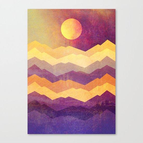 Magic Hour - The Sun Canvas Print