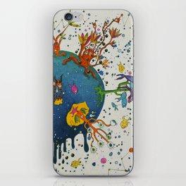 the ocean planet iPhone Skin