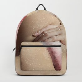 Lying On The Bed Backpack