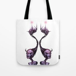 Double Face Woman Tote Bag