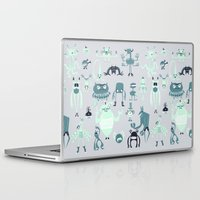monsters Laptop & iPad Skins featuring Monsters! by Fran Court