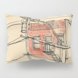 Wires Pillow Sham