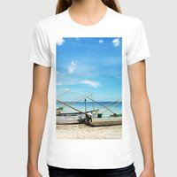 boats T-shirts featuring boats by Baptiste Riethmann