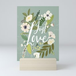 Just Love Mini Art Print