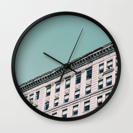Vintage Blues Wall Clock