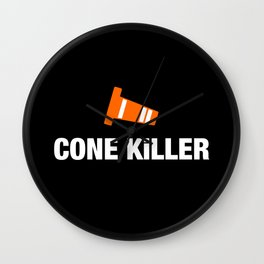 Cone Killer v3 HQvector Wall Clock