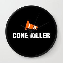 Cone Killer v3 HQvector Wall Clock