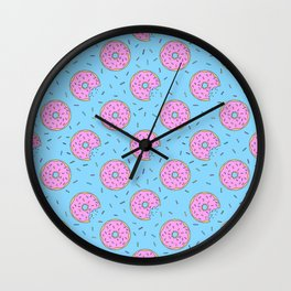 Donuts and Sprinkles Wall Clock