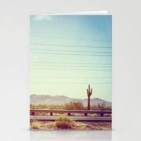 desert Stationery Cards featuring Desert by Whitney Retter