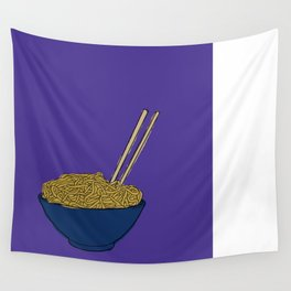 Noodle Bowl Wall Tapestry