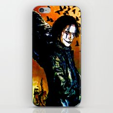 The Crow - Colored Sketch iPhone & iPod Skin