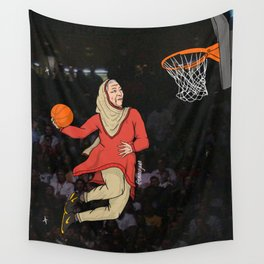 Dunkin Dhadhi Wall Tapestry