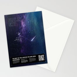 Augmented Reality - Satellite Stationery Cards