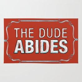 BIG LEBOWSKI- The Dude Abides Rug