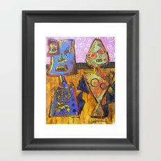 a d a m & e v e Framed Art Print