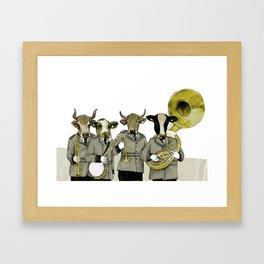 Herd Behavior Framed Art Print