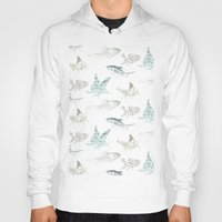 goldfish Hoodies featuring goldfish by Studio ReneeBoute