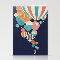 balloons Stationery Cards featuring Balloons by Jay Fleck