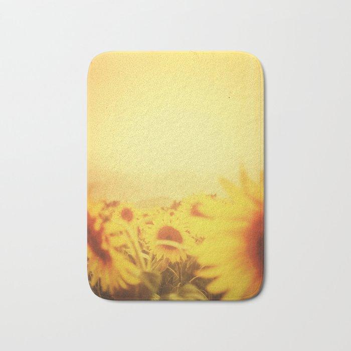 Delving in Yellow Bath Mat