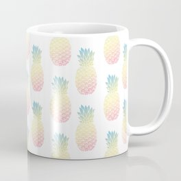Pastel Pineapple Coffee Mug