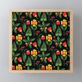 Botanical WaterColor #9 Framed Mini Art Print