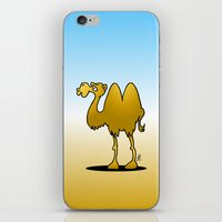 camel iPhone & iPod Skins featuring Camel by Cardvibes.com - Tekenaartje.nl