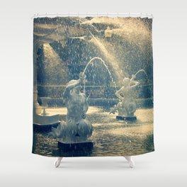 Savannah Forsyth Fountain Shower Curtain