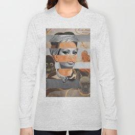 Self-Portrait with Small Monkey by F.K. & Sophia Loren Long Sleeve T-shirt