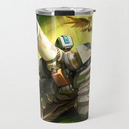 over bastion Travel Mug