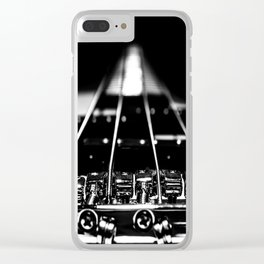 Bridge To Happiness Clear iPhone Case