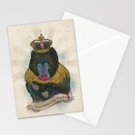 Mandy the Queen Stationery Cards