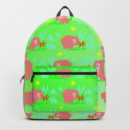 Pigs in clover Backpack