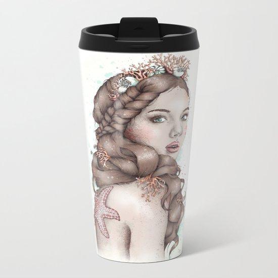 Forgotten Mermaid Metal Travel Mug