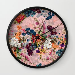 Summer Botanical Garden VIII - II Wall Clock