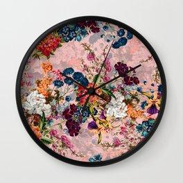 Summer Botanical Garden VIII - II Wall Clock