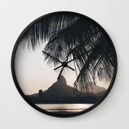 Lagoa in Rio de Janeiro, Brazil Wall Clock