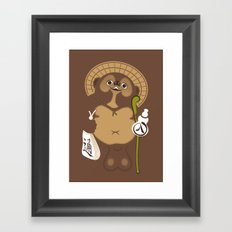 Japan Serie 5 - TANUKI Framed Art Print