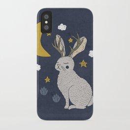 Serene Jackalope iPhone Case